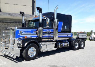 Western Star pour Transport Thibeault et Tellier