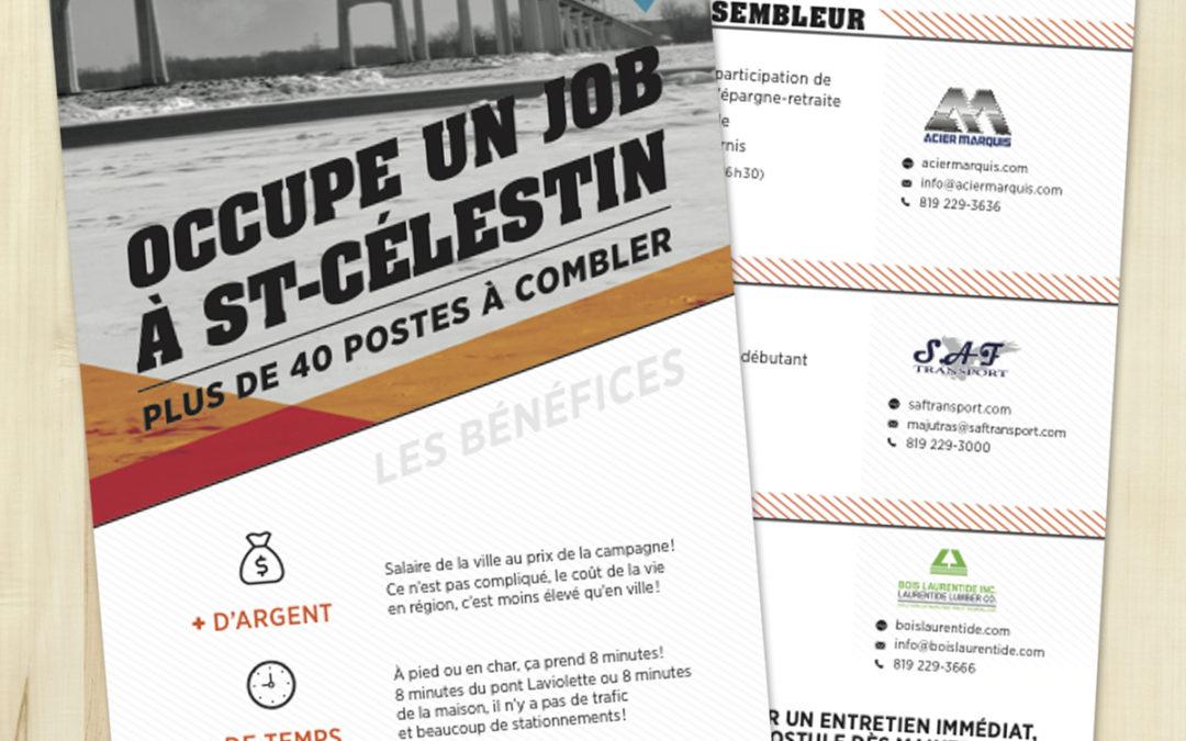 Occupe un job à Saint-Célestin
