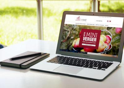 Site Web pour Pommes Marquées inc.