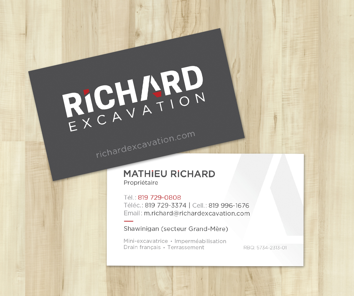 Cartes - Richard Excavation