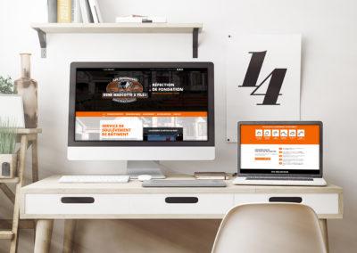 Site Web – Entreprises René Marcotte