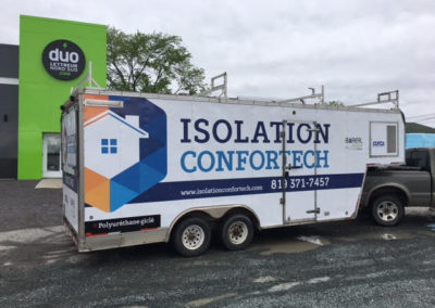Remorque Isolation Confortech