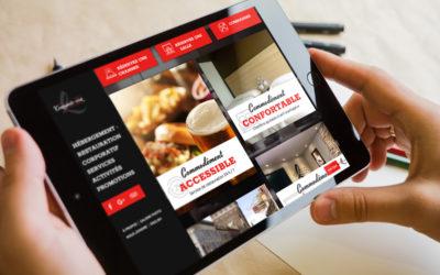 Le Complexe hôtelier Le 55, un site Web commodément vôtre