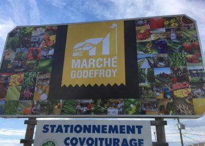Signalisation pour le Marché Godefroy