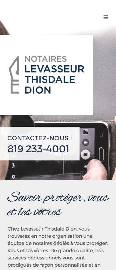 Design Adaptatif - Levasseur Thisdale Dion