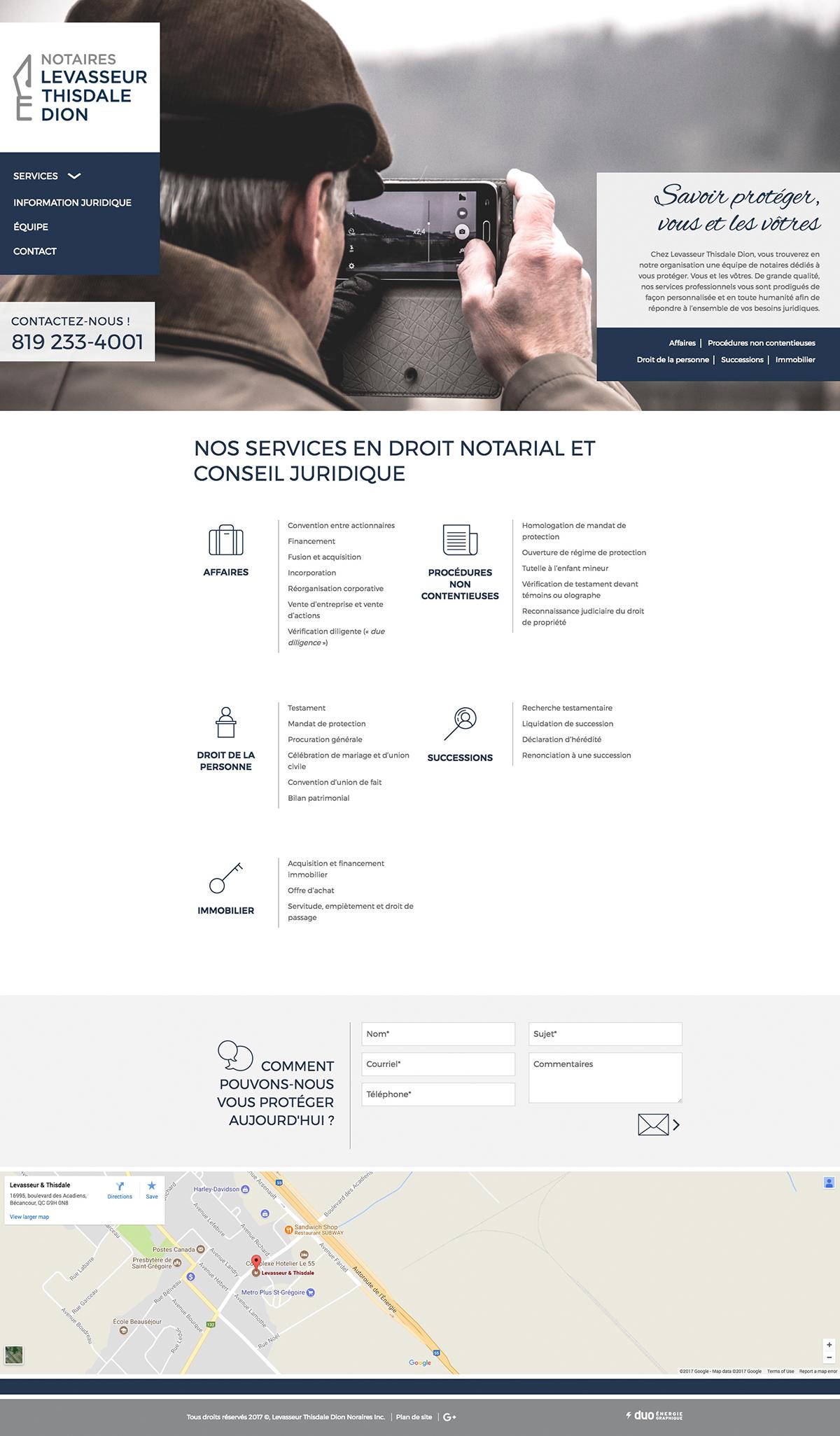 Levasseur Thisdale Dion - Notaires et conseillers juridiques<