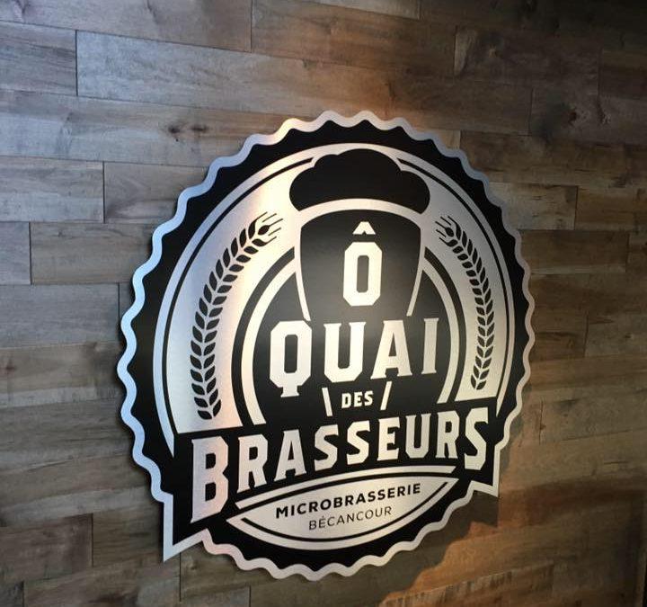 Identification murale pour Ô Quai des Brasseurs