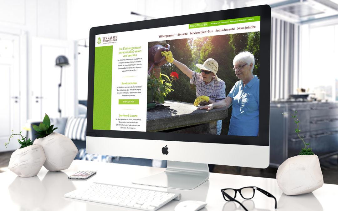 Site Web pour les Terrasses Dominicaines