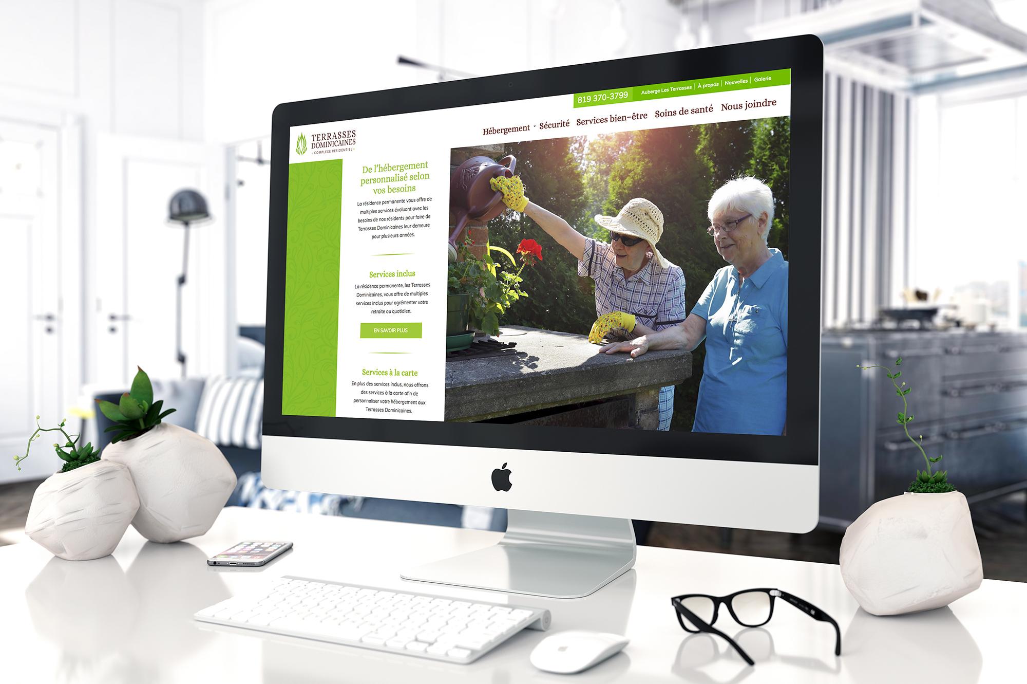 Terrasses Dominicaines - Site Web