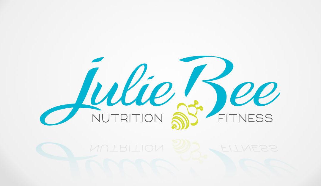 Création du logo Julie Bee Nutrition Fitness