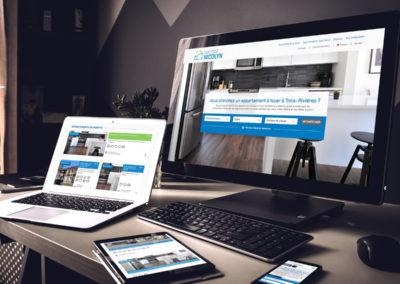 Refonte de site Web pour Société Nicolyn