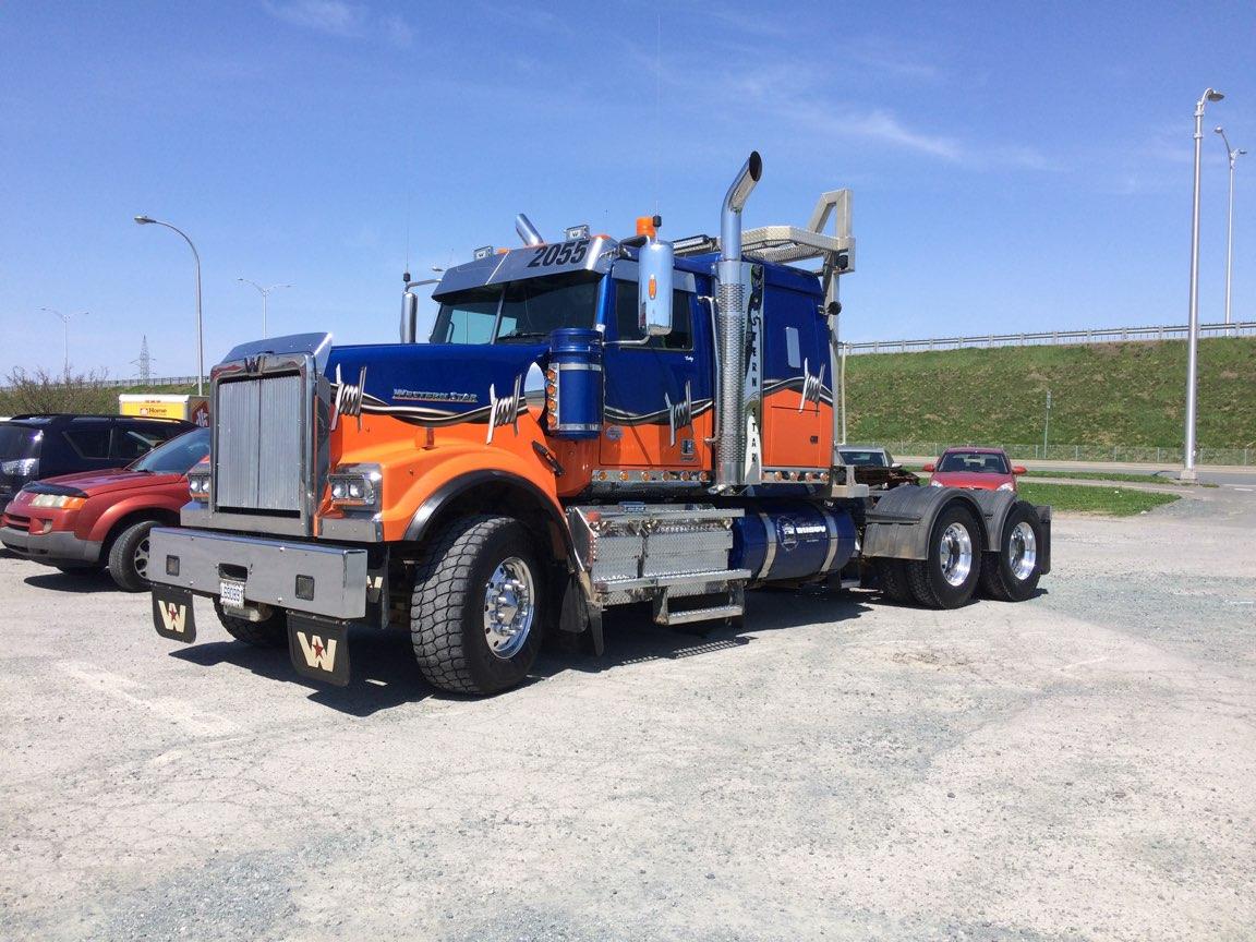 Lettrage partiel - Transport Rusty