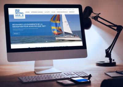 Création d'un nouveau site Web pour Vieux Port Yachting