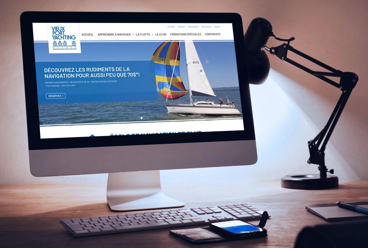 Web - Vieux Port Yachting