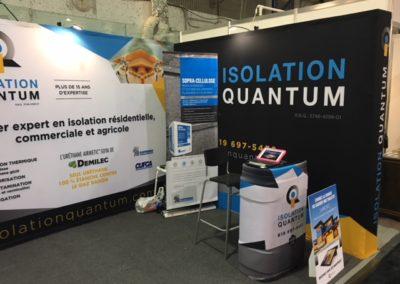 Kiosque pour Isolation Quantum