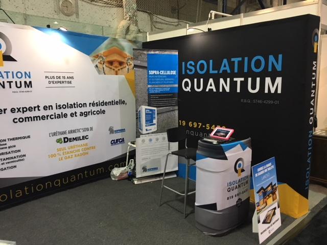 Kiosque Isolation Quantum
