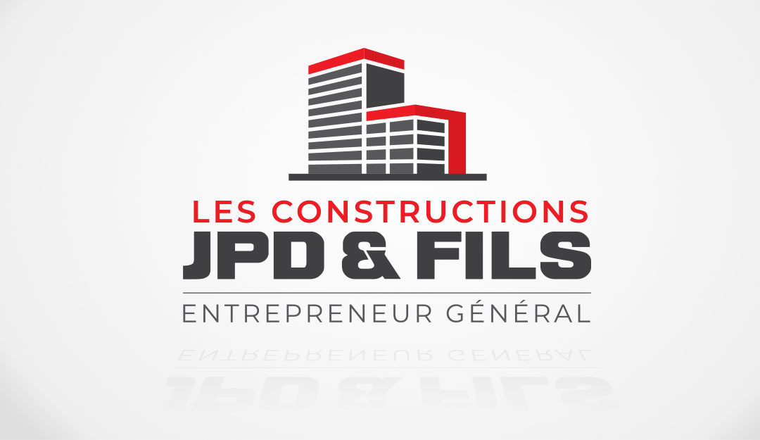 Logo et cartes d'affaires Constructions JPD et fils