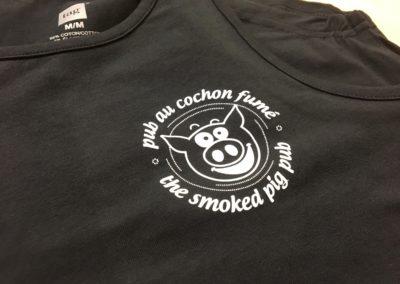 Robes pour Pub au Cochon Fumé