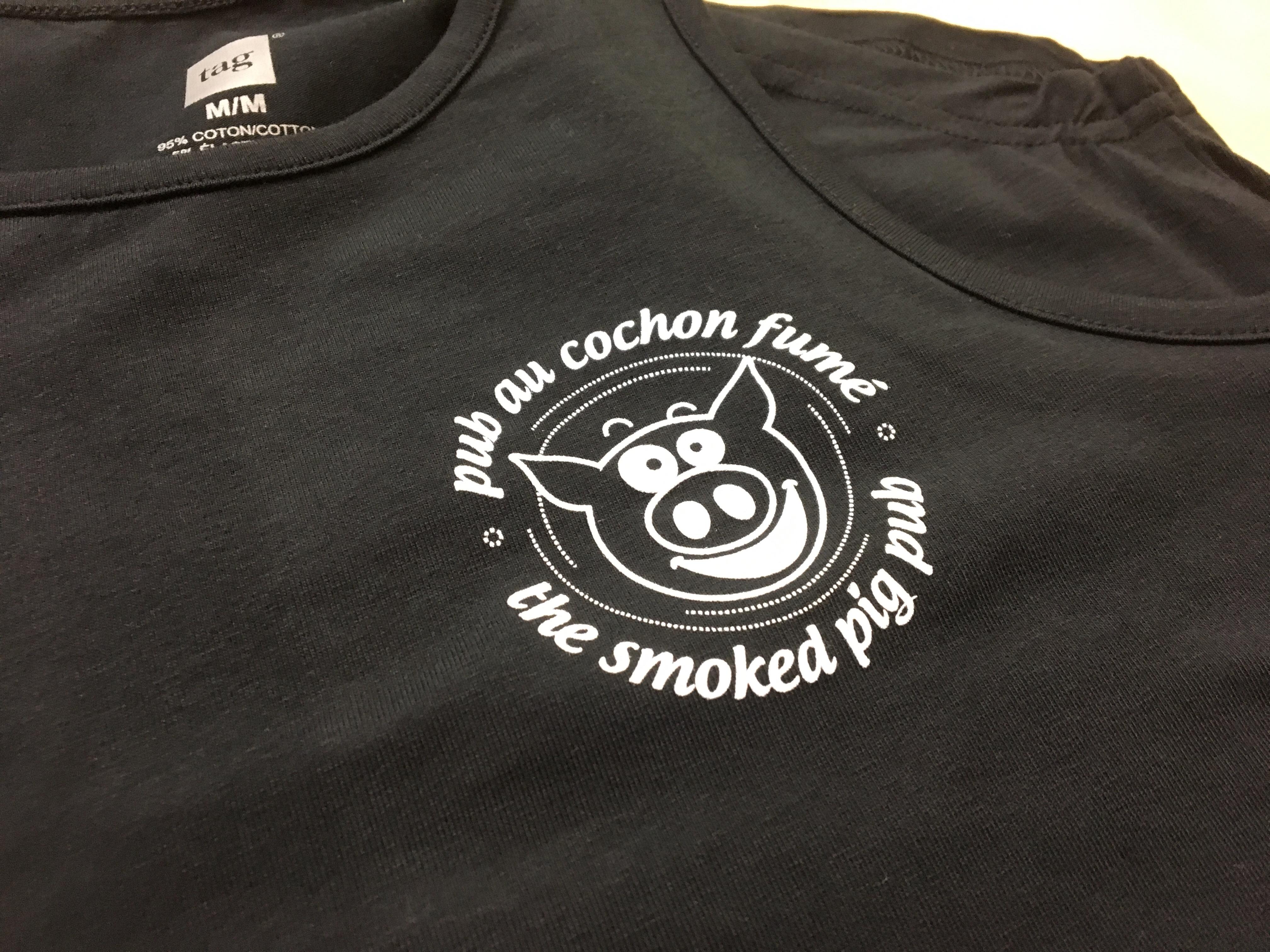 Logo-serigraphie-robe-pub-cochon-fume