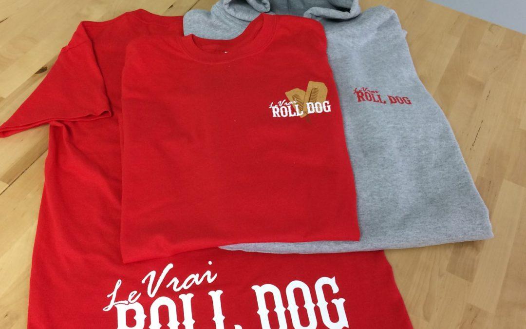 Vêtements pour la cantine à Roll Dog