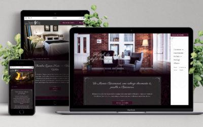 Création du nouveau site Web de Manoir Bécancourt