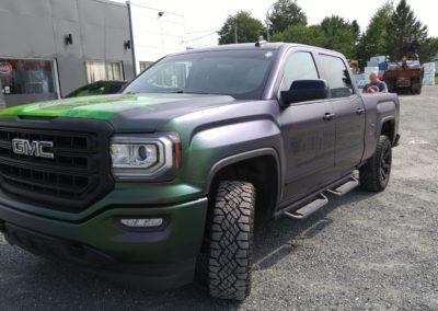 Lettrage complet d'un camion DUO