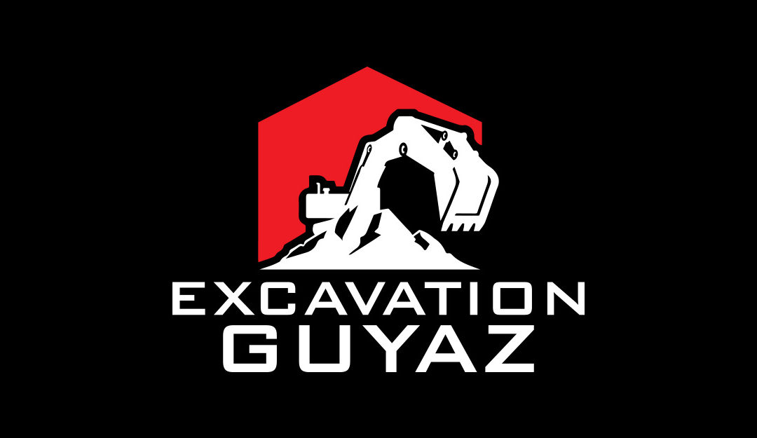 Conception d'un logo pour Excavation Guyaz