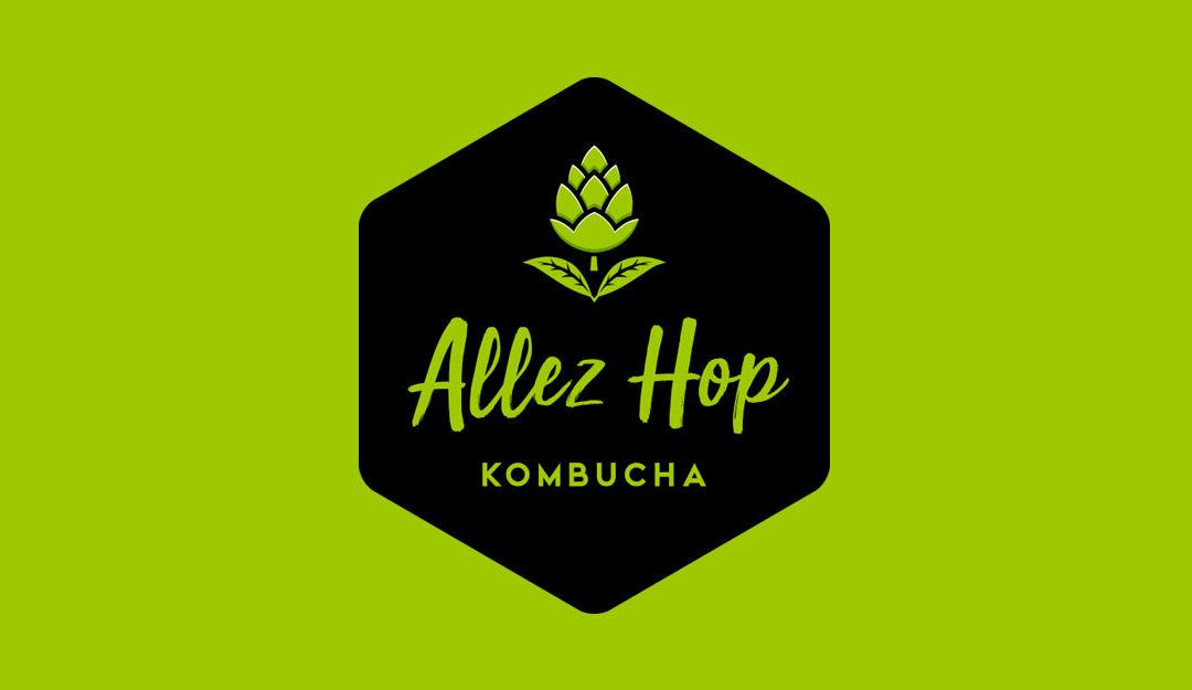 Création du logo Allez Hop – Kombucha