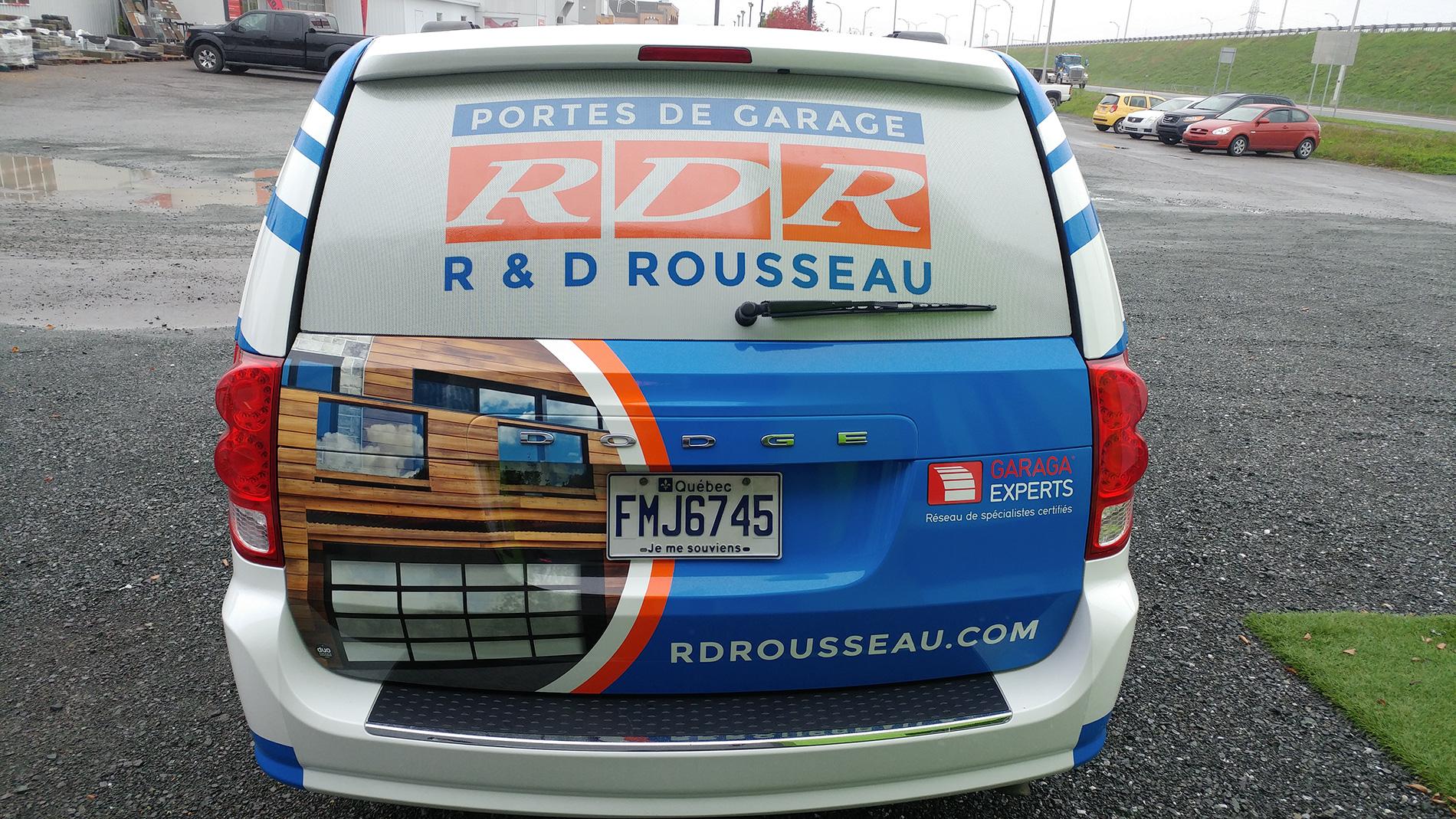 Habillage de véhicule complet - R&D Rousseau