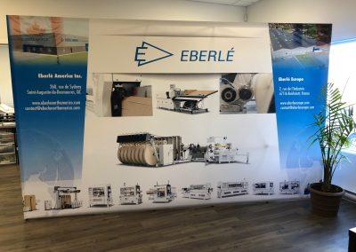 Mur de kiosque pour Trade Shows – Eberlé