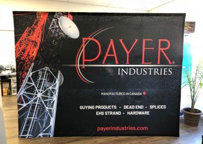 Mur de kiosque pour Trade Shows – Industries Payer