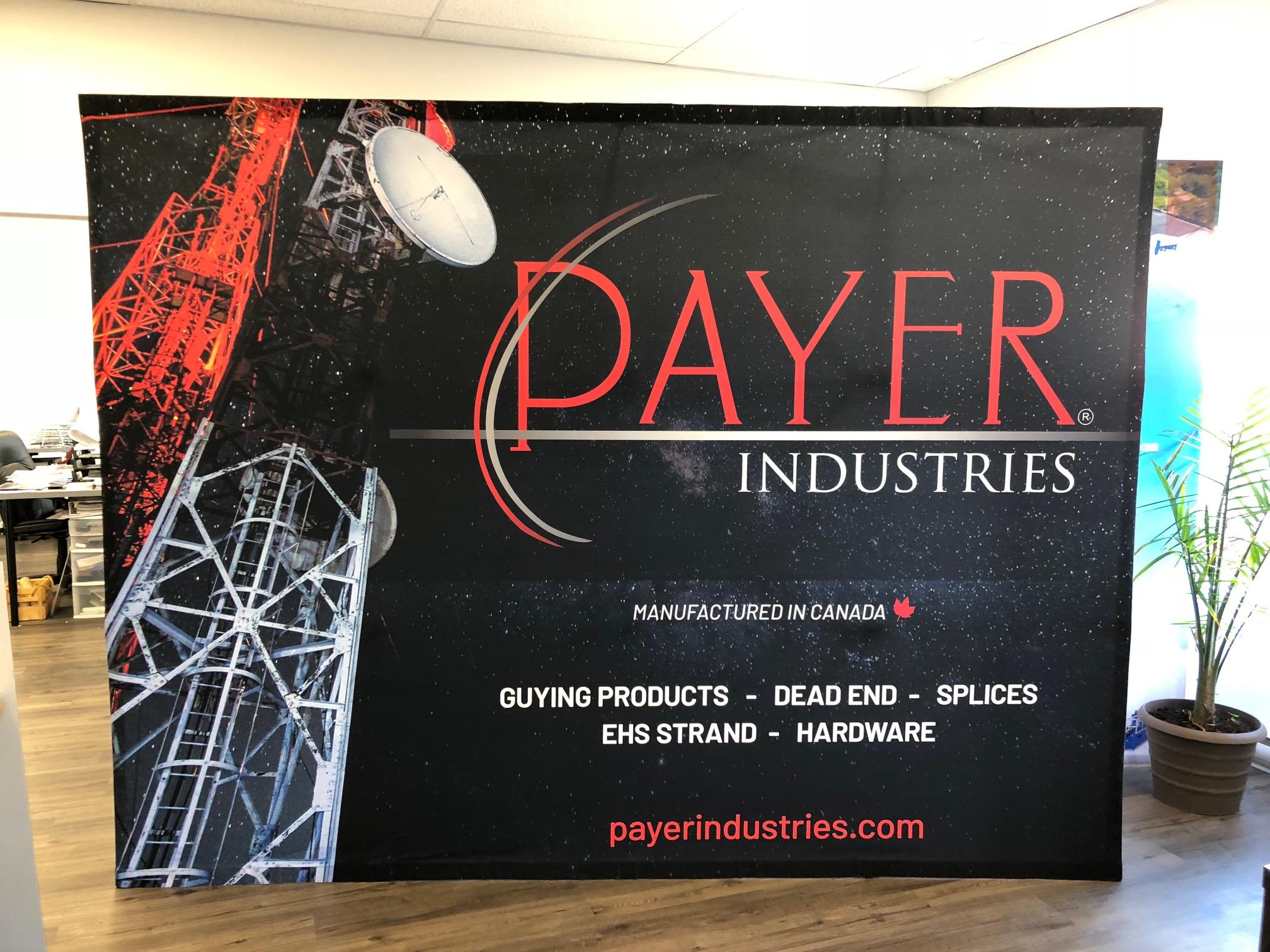 Mur de kiosque pour Trade Shows - Industries Payer