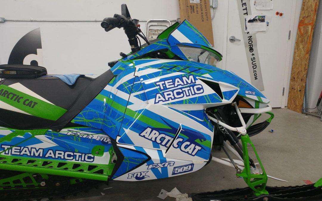Kit graphique de motoneige Arctic Cat FXR m8000