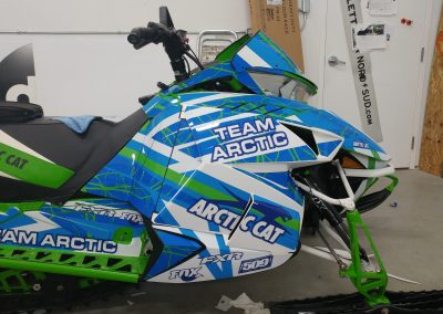 Kit graphique de motoneige Arctic Cat FXR m8000