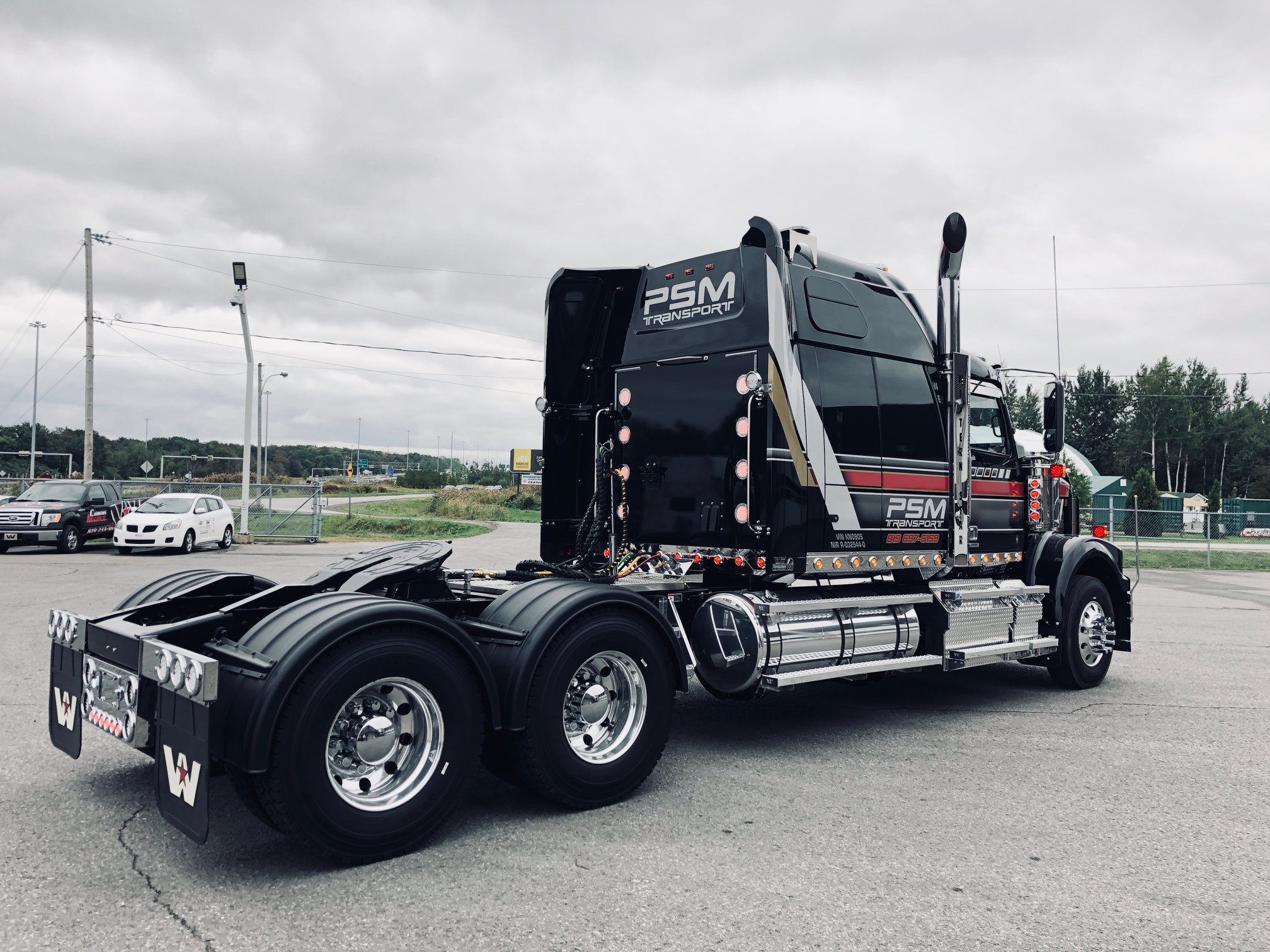 PSM Transport - Camions Western Star Mauricie