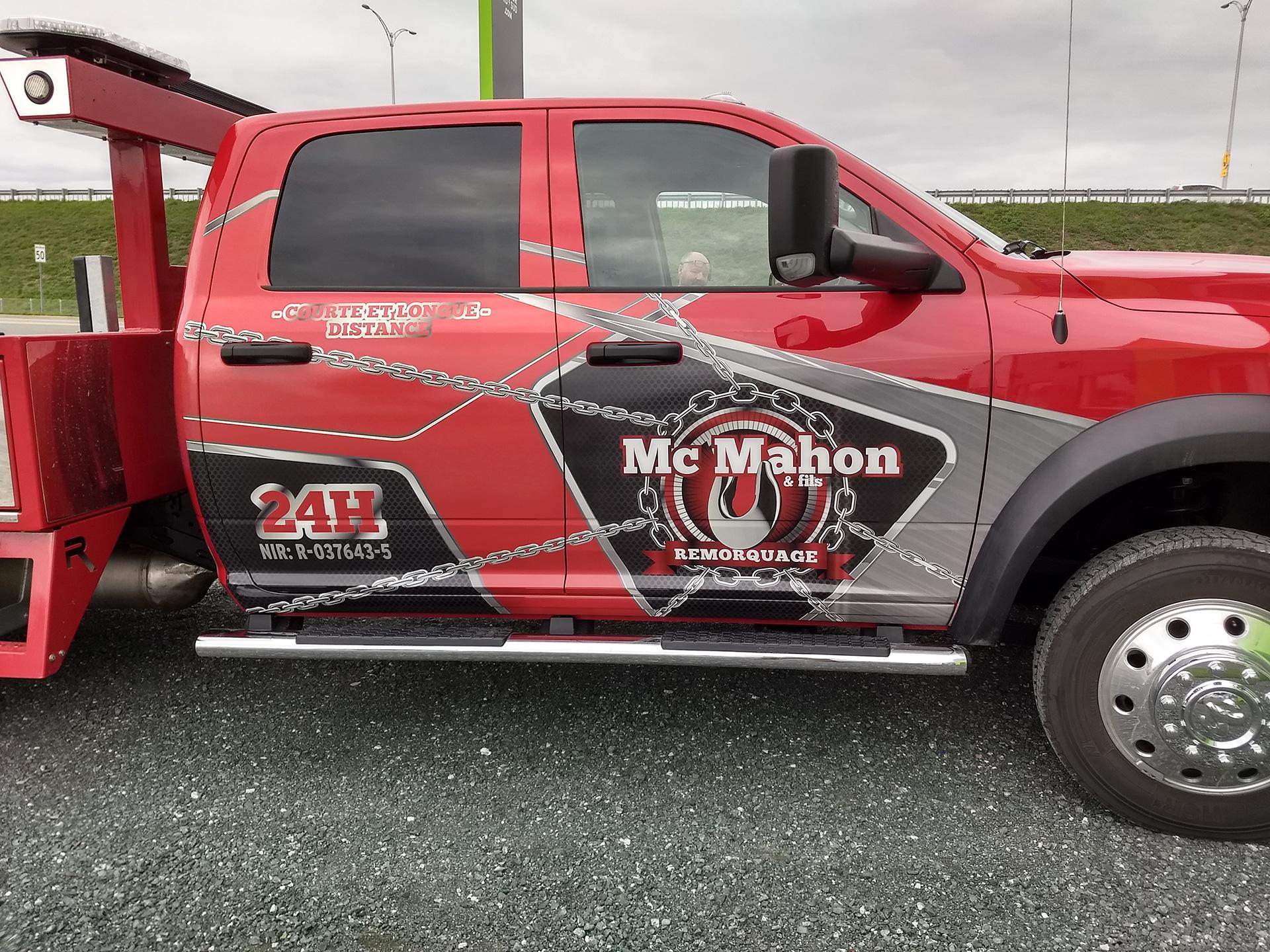 Remorquage McMahon & Fils