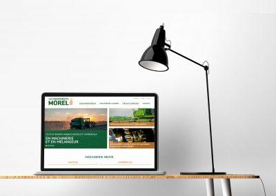 Site Web Les équipements Morel