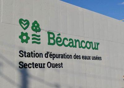 Station d'épuration des eaux usées – Secteur ouest – Ville de Bécancour
