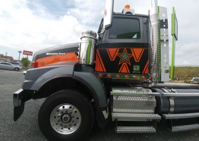 Lettrage d'un camion – Western Star