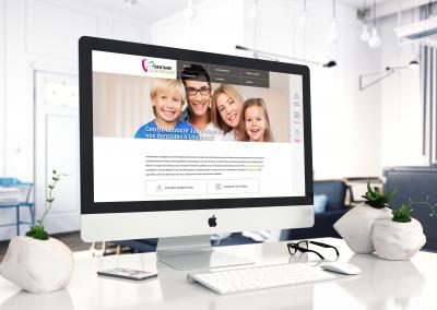 Refonte du site web pour le Centre dentaire Julie Messier