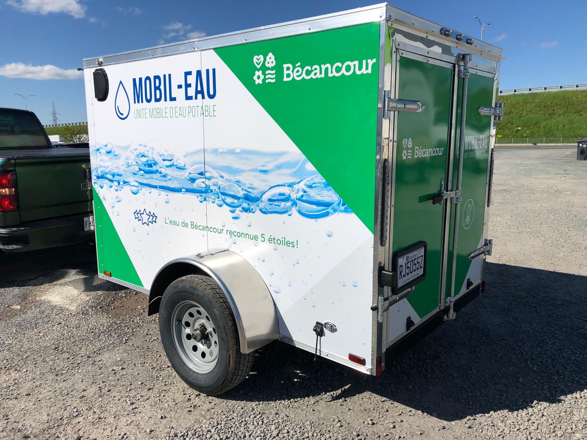 MOBIL-EAU - Unité mobile d'eau potable