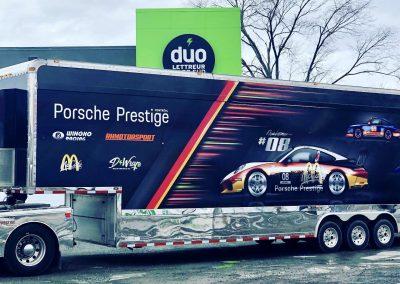 Remorque Porsche Prestige