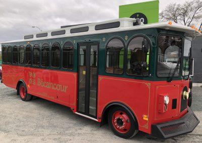 Trolley de la ville de Bécancour