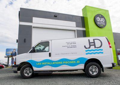 Camion Piscine JD