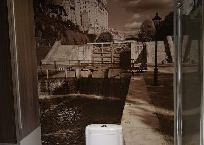 Murale de salle de bain