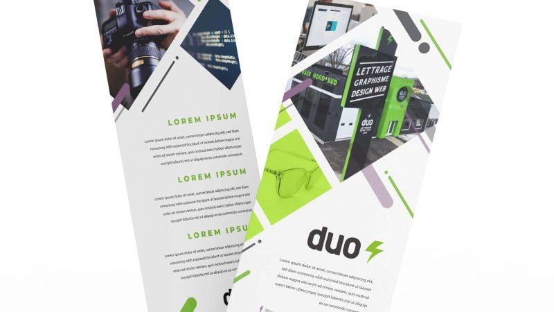 Encarts Duo - Produits imprimés