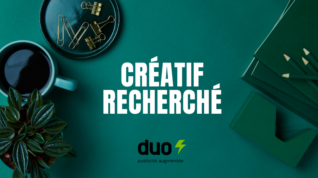Créatif recherché - Duo