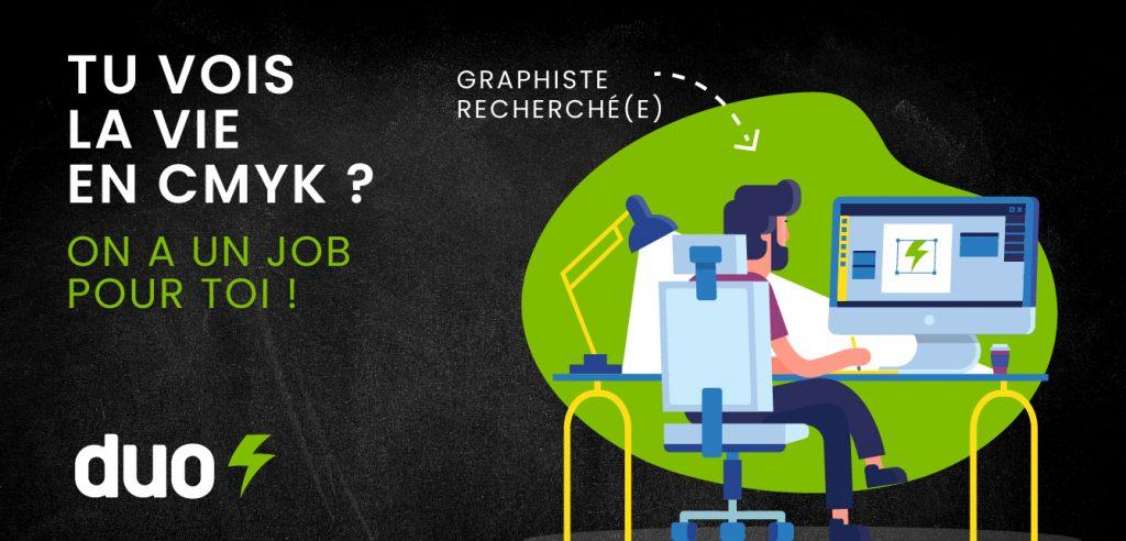 Emploi en graphisme à Bécancour - Duo