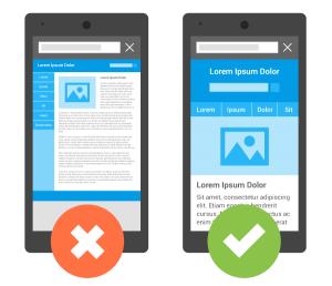 Exemple ergonomie mobile via Google