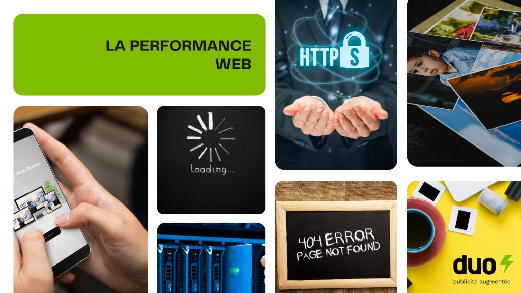 Facteurs de performance Web
